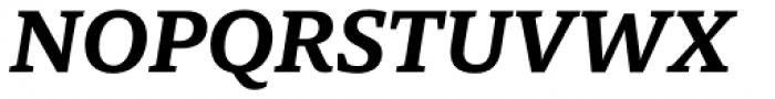 Mundo Serif Medium Italic Font UPPERCASE