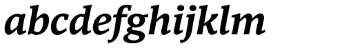 Mundo Serif Medium Italic Font LOWERCASE