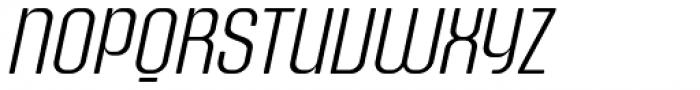 Murat Grotesque 42 Light Italic DEMO Font UPPERCASE