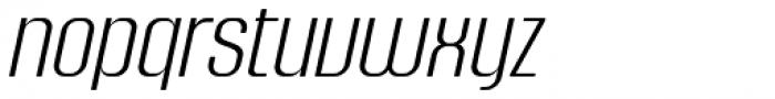 Murat Grotesque 42 Light Italic DEMO Font LOWERCASE