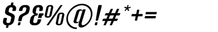 Murat Grotesque 44 Medium Italic Font OTHER CHARS