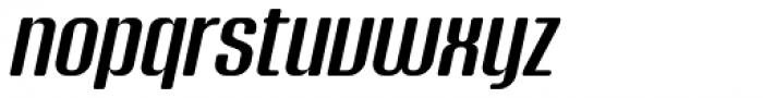 Murat Grotesque 44 Medium Italic Font LOWERCASE