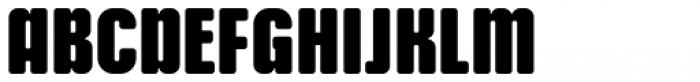 Murat Grotesque 46 Black Font UPPERCASE