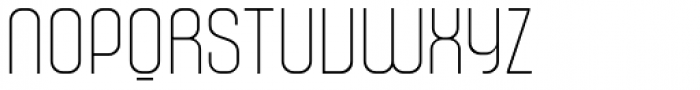 Murat Grotesque Alt 41 Thin Font UPPERCASE