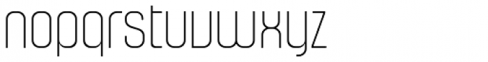 Murat Grotesque Alt 41 Thin Font LOWERCASE