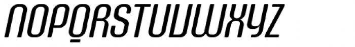 Murat Grotesque Alt 43 Italic Font UPPERCASE