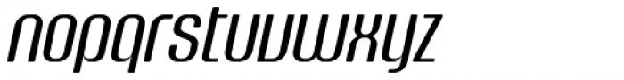 Murat Grotesque Alt 43 Italic Font LOWERCASE