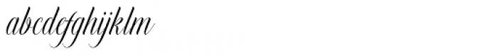 Murchison Script Regular Font LOWERCASE