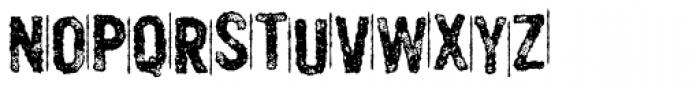 Murderous Desire Font UPPERCASE