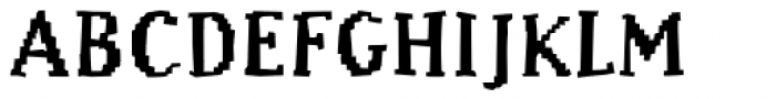 Murphy Black Font UPPERCASE