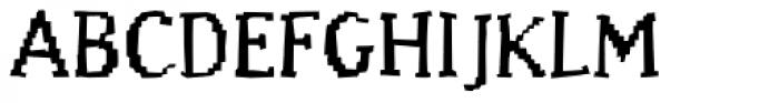 Murphy Regular Font UPPERCASE
