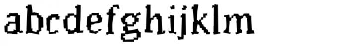 Murphy Regular Font LOWERCASE