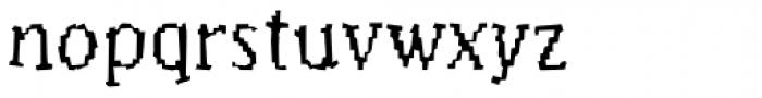Murphy Thin Font LOWERCASE