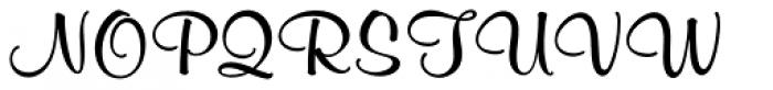 Murray Hill SB Medium Font UPPERCASE