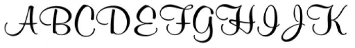 Murray Hill SB Regular Font UPPERCASE