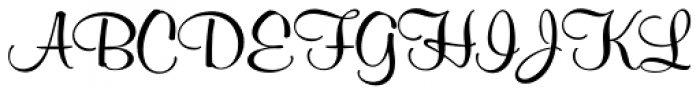 Murray Hill SH Regular Font UPPERCASE