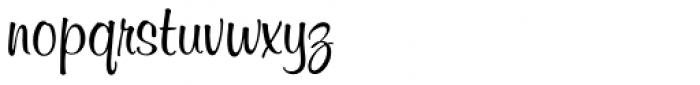 Murray Hill SH Regular Font LOWERCASE