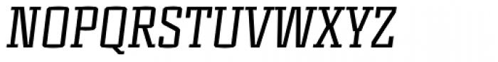 Murray Slab Italic Font UPPERCASE