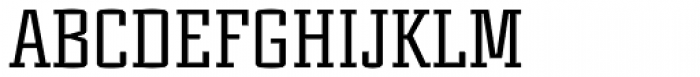 Murray Slab Font UPPERCASE