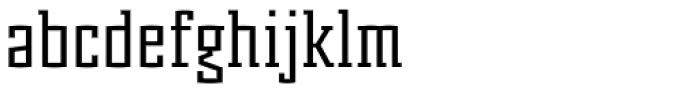 Murray Slab Font LOWERCASE