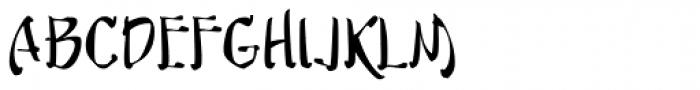 Musashi BB Font UPPERCASE