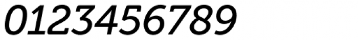 Museo Cyrillic 500 Italic Font OTHER CHARS