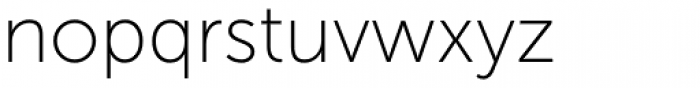Museo Sans 100 Font LOWERCASE