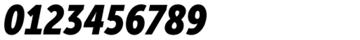 Museo Sans Condensed 900 Italic Font OTHER CHARS