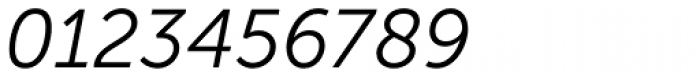 Museo Sans Cyrl 300 Italic Font OTHER CHARS