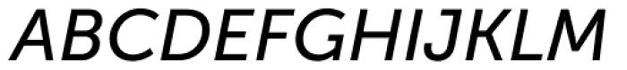 Museo Sans Cyrl 500 Italic Font UPPERCASE