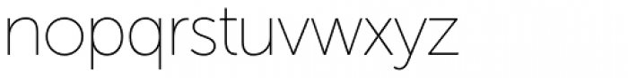 Museo Sans Display Light Font LOWERCASE