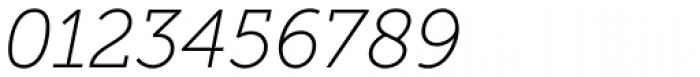 Museo Slab 100 Italic Font OTHER CHARS