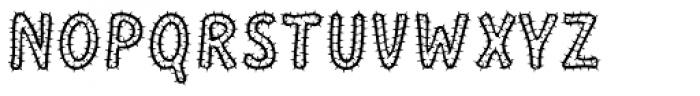 Mushmellow Cactus Font UPPERCASE