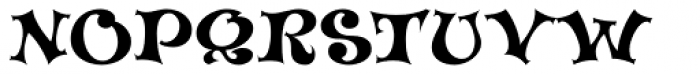 Musical + Font UPPERCASE