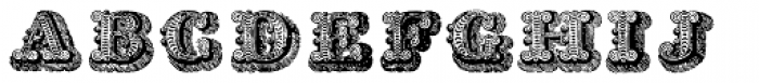 Musirte Antiqua Font UPPERCASE