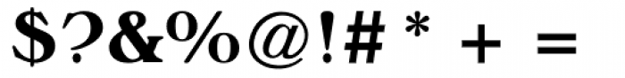 Musketeer ExtraBold Font OTHER CHARS