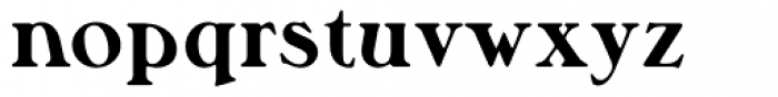 Musketeer ExtraBold Font LOWERCASE