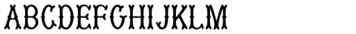 MuskitosCaps Font LOWERCASE