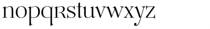Mussica Font LOWERCASE
