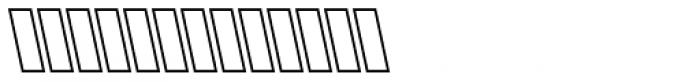 Mutamathil Italic Font UPPERCASE