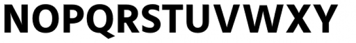 Mute Bold Font UPPERCASE