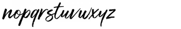 Muthea Font LOWERCASE