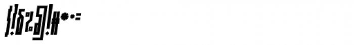 Muzarela Extracondensed Bold Italic Font OTHER CHARS