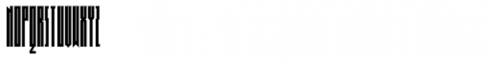 Muzarela Extracondensed Regular Font UPPERCASE