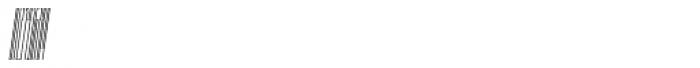 Muzarela Extracondensed Thin Italic Font OTHER CHARS
