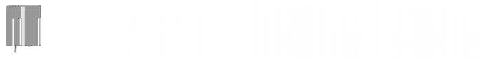 Muzarela Extracondensed Thin Font UPPERCASE