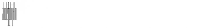 Muzarela Extracondensed Thin Font LOWERCASE