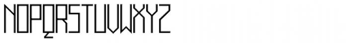 Muzarela Light Font UPPERCASE