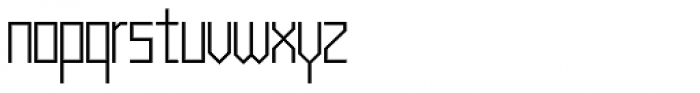 Muzarela Light Font LOWERCASE