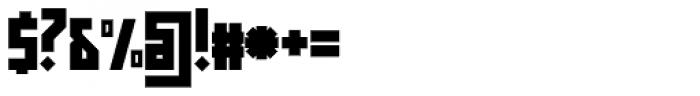 Muzarela Semiexpanded Black Font OTHER CHARS